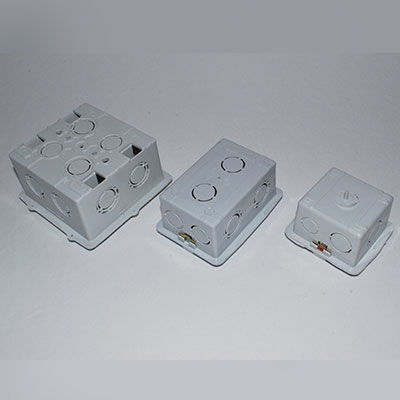 Caja Embutir Pvc Rectangular X 100 Uni