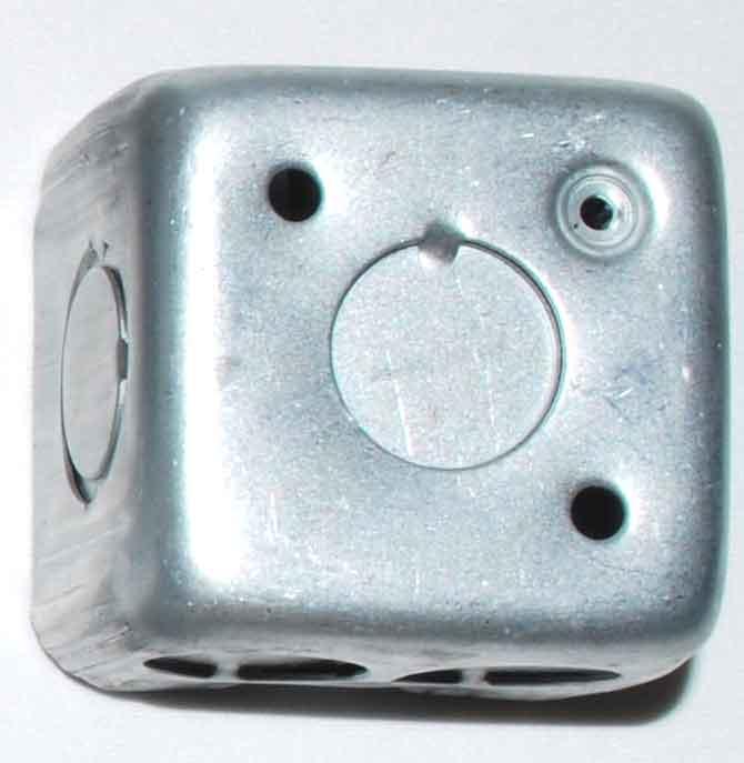 Caja Chapa 10×10  Cuadrada Liviana X 60 Uni