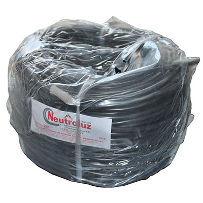 Cable Envainado Chato 2 X 1.00 Mm² X 100 Mts