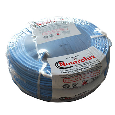 Cable Unipolar 1 X 2.50 Mm² X Rollo 100 Mts